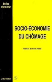 Socio-économie du chômage - Couverture - Format classique