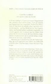 Contes curieux des quatre coins du monde - 4ème de couverture - Format classique