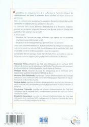 La méthode siips, indicateurs d'activités en soins infirmiers (2e édition) - 4ème de couverture - Format classique