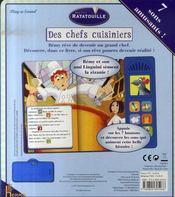 Ratatouille des chefs cuisiniers - 4ème de couverture - Format classique
