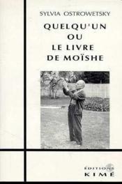 Quelqu'un où le livre de Moïshe - Couverture - Format classique