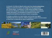 Limousin - 4ème de couverture - Format classique