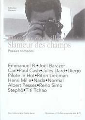 Poesies Nomades ; Slameur Des Villes ; Slameur Des Champs - Intérieur - Format classique