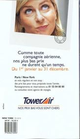 New York 2000, Le Petit Fute - 4ème de couverture - Format classique
