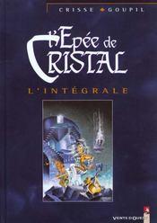 L'épée de cristal ; intégrale t.1 à t.5 - Intérieur - Format classique