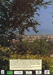 Carte Archeologique De La Gaule T.63/1 ; Clermont-Ferrand - 4ème de couverture - Format classique
