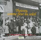 Thoissey comme fleur au soleil ; photographies des frères Dotto - Couverture - Format classique