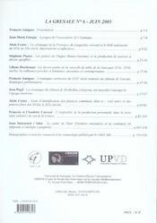 Poteries Meridionales Xvie Xxe Siecles - 4ème de couverture - Format classique