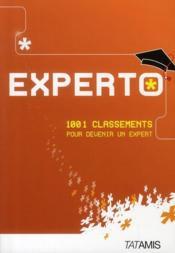 Experto ; 1001 classements pour devenir un expert - Couverture - Format classique