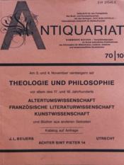 Antiquariat N°10 - Couverture - Format classique