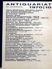 Antiquariat N°10 - Intérieur - Format classique
