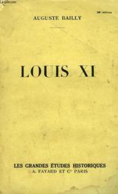 Louis Xi. - Couverture - Format classique