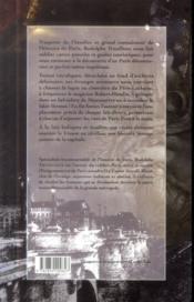 Paris fantastique - 4ème de couverture - Format classique