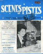 SCENES ET PISTE - 31e ANNEE - N°255 - Couverture - Format classique