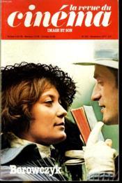 Revue De Cinema - Image Et Son N° 322 - Borowczyk - Le Cinema Albanais - Ousmane Sembene - Couverture - Format classique