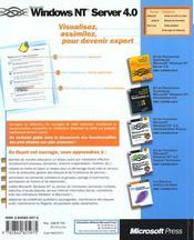Microsoft Windows Nt Server 4.0 Au Quotidien - 4ème de couverture - Format classique