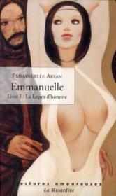 Emmanuelle t.1 ; la leçon d'homme - Couverture - Format classique