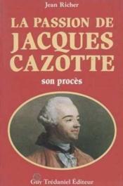 Passion de jacques cazotte - Couverture - Format classique