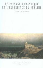 Le paysage romantique et l'expérience du sublime - Intérieur - Format classique