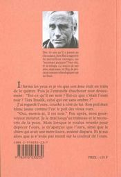 Heq ; Le Chant Pour Celui Qui Desire Vivre - 4ème de couverture - Format classique