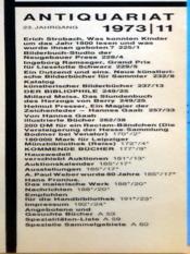 Antiquariat N°11 - Intérieur - Format classique