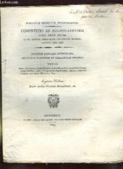 Competitio Ad Aggregationem Jussu Regis Optimi. Thesis Eugenius Delmas. Texte En Latin. - Couverture - Format classique