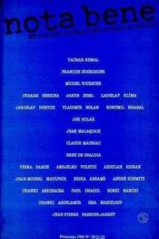 Nota Bene N 20-21-22 - Couverture - Format classique