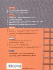 La fiscalité en qcm - 4ème de couverture - Format classique