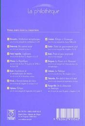 La pensee et le mourant de bergson - 4ème de couverture - Format classique