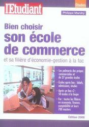 Bien choisir son école de commerce et sa filière d'économie-gestion à la fac - Intérieur - Format classique