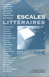 Escales Litteraires D'Automne - Intérieur - Format classique