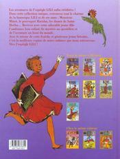 Lili t.5 ; Lili à l'opéra - 4ème de couverture - Format classique