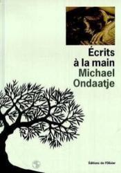 Ecrits A La Main - Couverture - Format classique