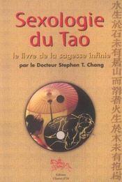 Sexologie du Tao ; le livre de la sagesse infinie - Intérieur - Format classique