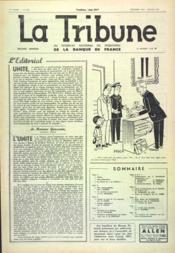 Tribune (La) N°390 du 01/12/1960 - Couverture - Format classique