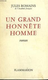 Un Grand Honnete Homme. - Couverture - Format classique