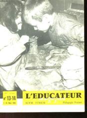 L'EDUCATEUR MAGAZINE N°13 et 14 - Couverture - Format classique