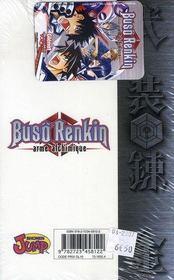Buso renkin t.9 ; rencontre entre un garçon et une combattante - 4ème de couverture - Format classique
