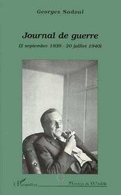 Journal De Guerre - Intérieur - Format classique