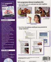 Votre programme minceur en quelques clics - 4ème de couverture - Format classique