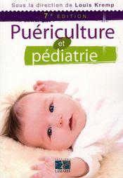 Puériculture et pédiatrie (7e édition) - Intérieur - Format classique