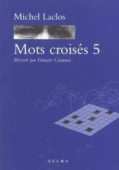 Mots croisés t.5 - Intérieur - Format classique