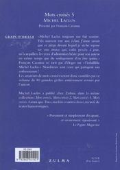 Mots croisés t.5 - 4ème de couverture - Format classique