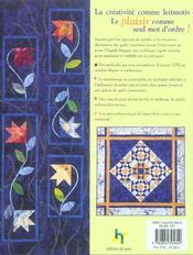 Matelasser Et Embellir En Un Seul Geste - 4ème de couverture - Format classique