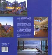 Maisons d'architectes t4 - 4ème de couverture - Format classique