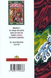 Yu-Gi-Oh t.20 - 4ème de couverture - Format classique