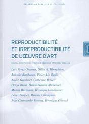 Reproductibilite Et Irreproductibilite De Oeuvre D'Art - Intérieur - Format classique