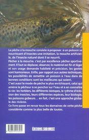 Aed La Peche A La Mouche/Poche - 4ème de couverture - Format classique