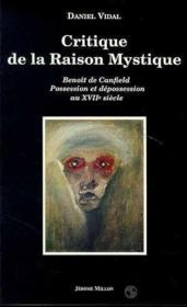 Critique de la raison mystique - Couverture - Format classique
