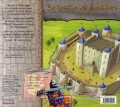 Je dessine les chevaliers - 4ème de couverture - Format classique
